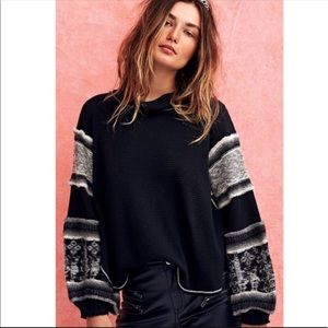 RARE FREE PEOPLE SIZE S NORTHERN LGHTS THERMAL
